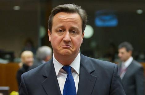 David Cameron, le premier ministre conservateur, joue son va-tout avec les élections générales du 7 mai / Crédit : Rex Features